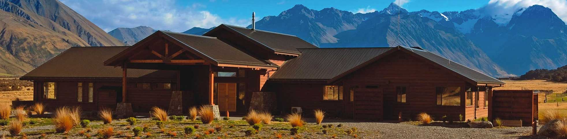 New Zealand Hunting Lodge