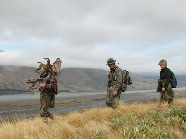 New Zealand hunting Don Patterson Outfitter Professional Hunter