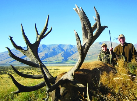 Red Stag Hunting NZ
