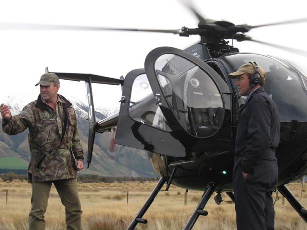 Guiding Helicopter Professional Hunter New Zealand Hunting