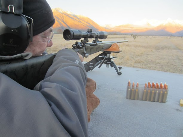 Gun Range Professional Hunter New Zealand Hunting