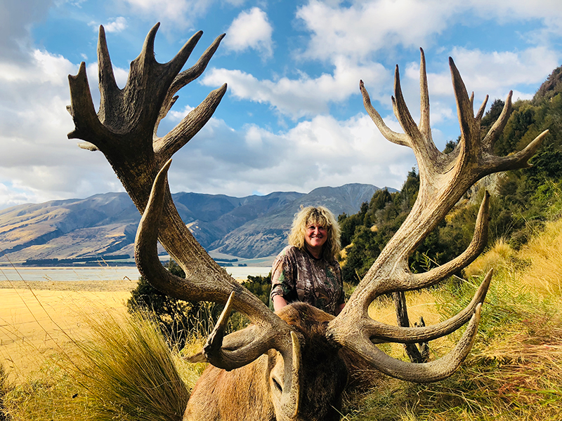 Red Stag Cynthie Fisher SCI 450