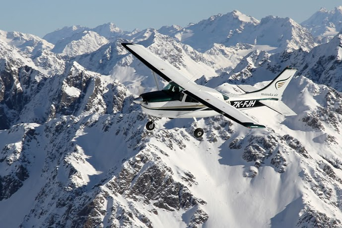Scenic Flight New Zealand Southern Alps